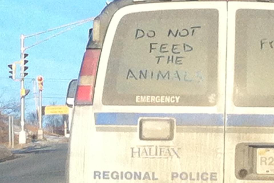 HFX Police Van