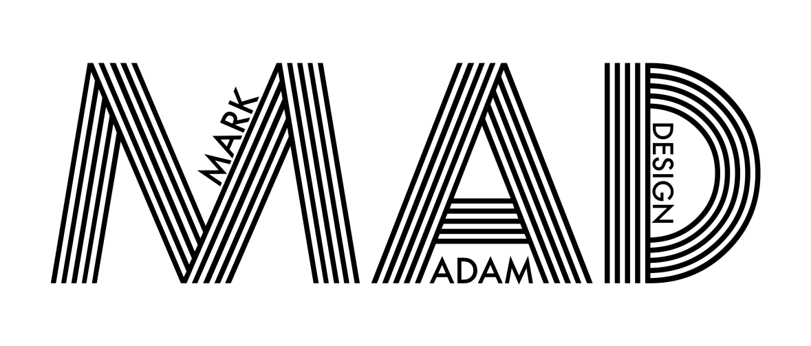 Mark Adam Design - Logo - BannerStyle-blk